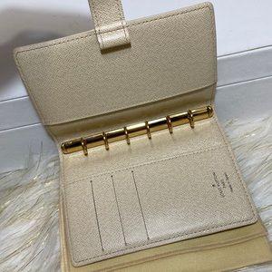 Louis Vuitton Azur Agenda PM Notebook Cover